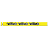 "Tytan Band® Expressions Tyvek 3/4"" Please Drink Responsibly Design Wristbands NTX88-14 Yellow"
