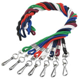 "Breakaway Round Braided 1/8"" Lanyard 2137 - 100/Pack - Wristbands.com"