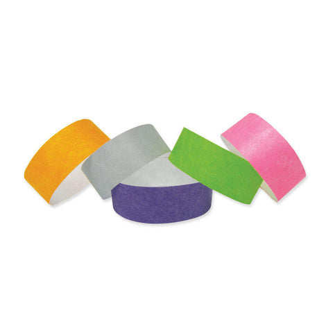"Speedi-Band® Tyvek Wristbands 1"" 10 Per Sheet TENS (10/Sheet) - Wristbands.com"