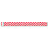 "Tytan Band® Expressions Tyvek Wristbands 1"" Checkerboard Design TX03 (500/Pack) - Wristbands.com"