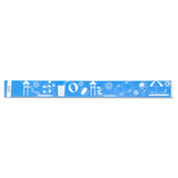 "Tytan Band® Expressions Tyvek Wristbands 1"" Waterpark Design TX40 (500/Pack) - Wristbands.com"