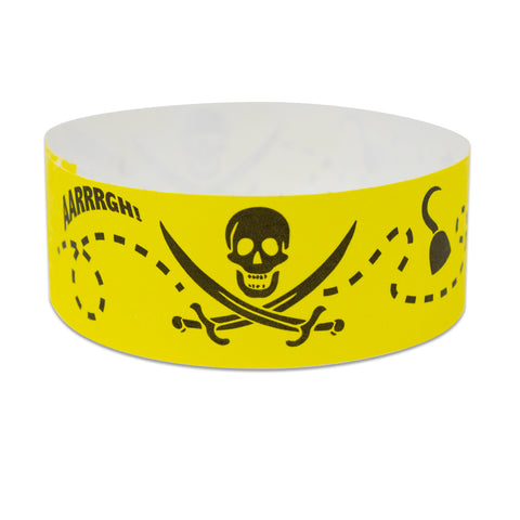 Pirate Design Wristbands