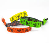 "Woven Wristbands 1/2"" Star Explosion - High Security Closure WOVST (100/Pack) - Wristbands.com"