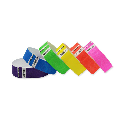 "Tytan Tabless® Tyvek 3/4"" Wristbands NTAB - 1000/Box - Wristbands.com, The No.1 Wristband Store in the World"