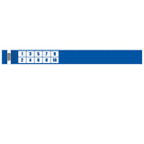"Tytan® Band Expressions Tyvek Wristbands 1"" Numbers Design TX32 (500/Pack) - Wristbands.com"