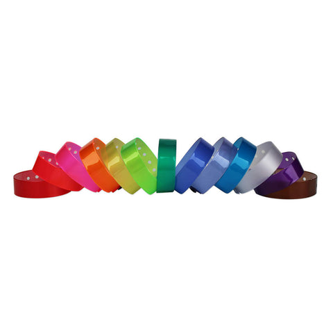 "ClearImage® Medium Vinyl Wristbands 3/4"" VCP (500/Box) - Wristbands.com"