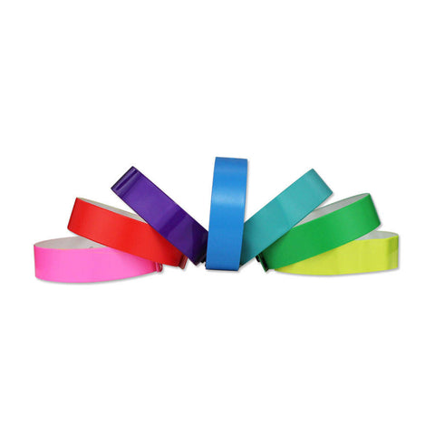"Vinyl 3/4"" Wristbands VSP - 500/Box - Wristbands.com, The No.1 Wristband Store in the World"