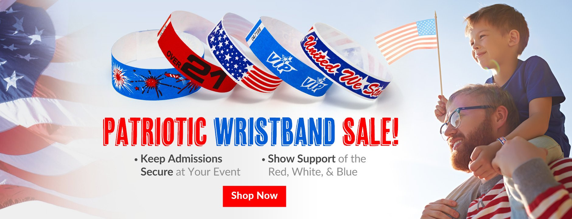 Patriotic Wristbands