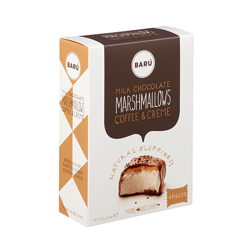Baru marshmallows coffee and cream skumfiduser kaffe