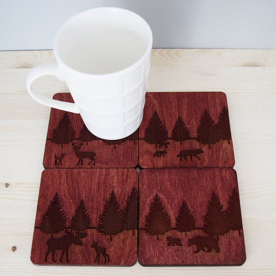 Boreal Forest Animal Coaster