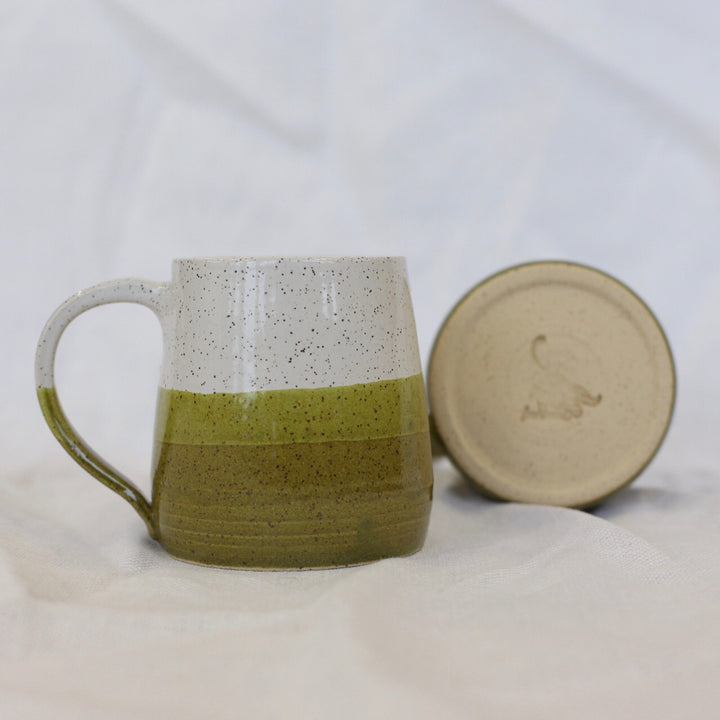 Ceramic Slanted Mug