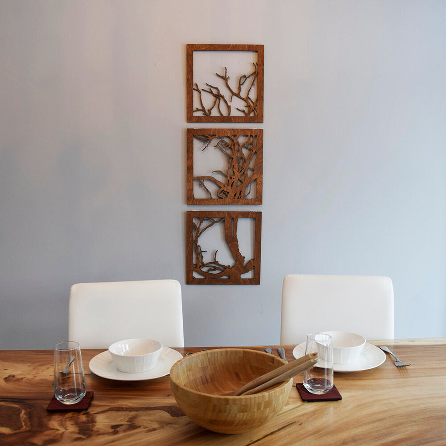 Petite Bur Oak Branch Wall Art