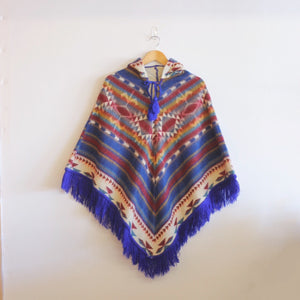 Youth Ecuadorian Wool Poncho