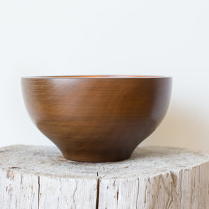 Mahogany Salad Bowl