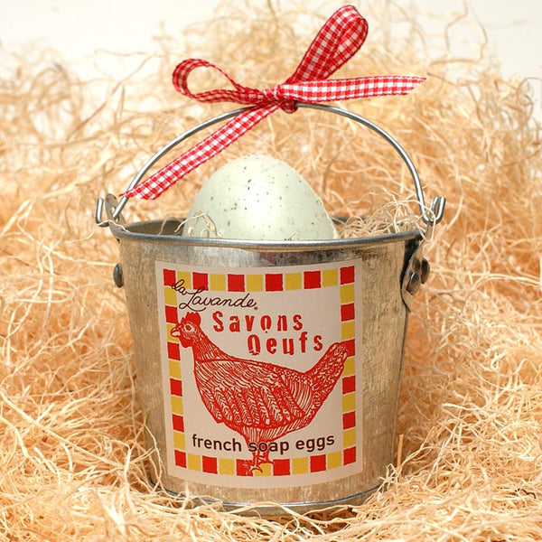 French Egg Soap Bucket
