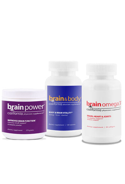 Brain Pack (save $45.99)