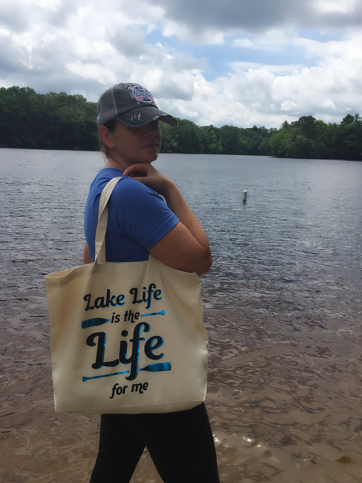 Lake Life beach bag