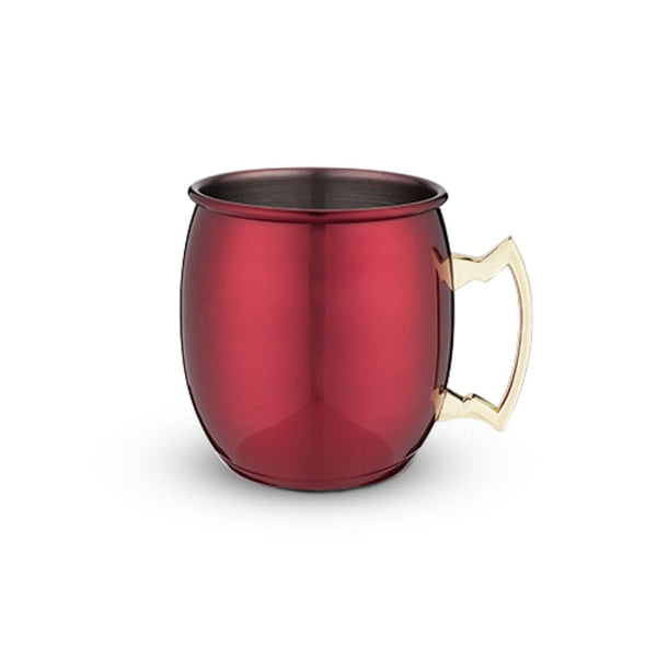 Red Moscow Mule Mug