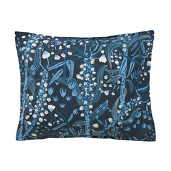 "Queen's Head - Pillowcase  20"" x 24"" - Blueming Meadow / Blue"