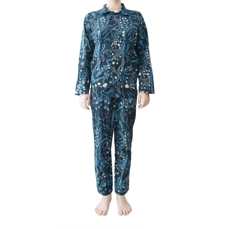 NIGHTY NIGHTIE, SLEEP TIGHTY - PYJAMA SET Blueming Meadow / Blue