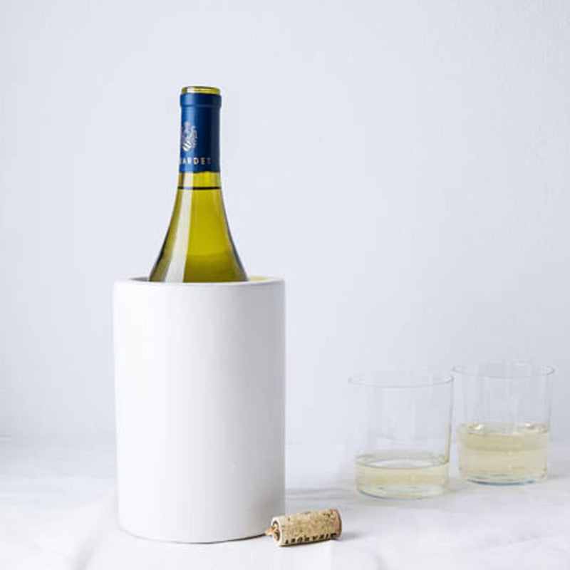 Concrete Utensil Holder/Wine Chiller
