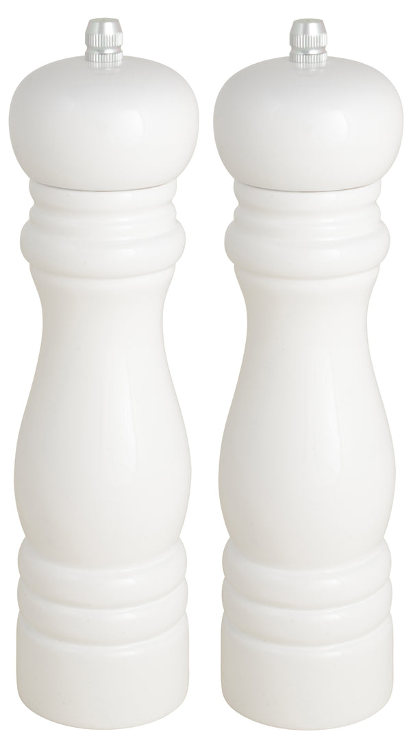 Salt and Pepper Mills - White