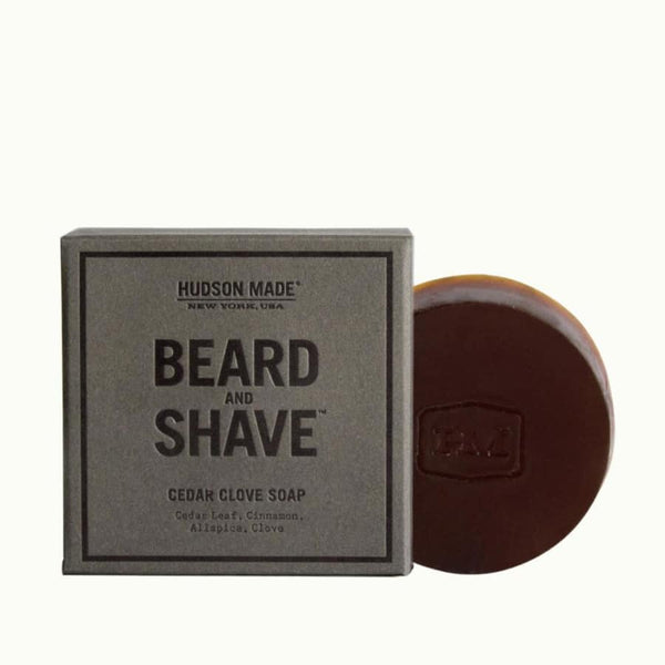 Hudson Made - Cedar Clove Beard & Shave Soap