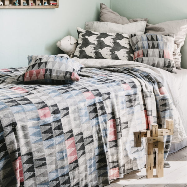 Bedspread - Fir Fir Forest - Grey