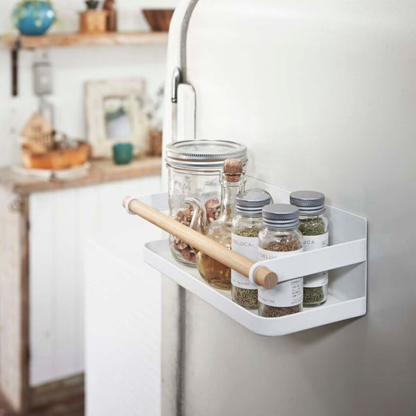 Tosca Magnetic Spice Rack White
