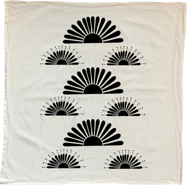 Native Bear - Bright Suns Towel