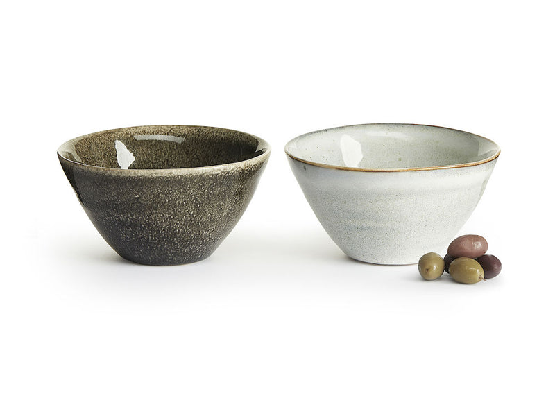 Nature serving bowl medium, 2 pack