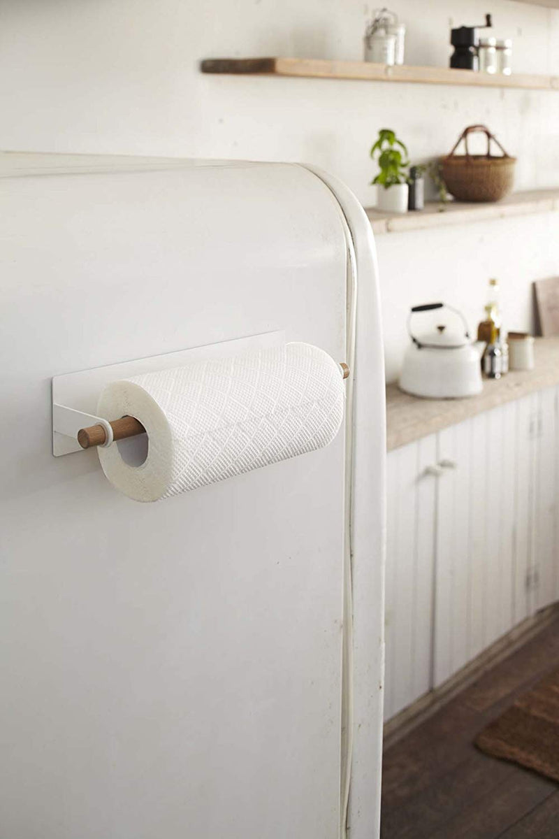 Tosca Magnetic Paper Towel Holder White