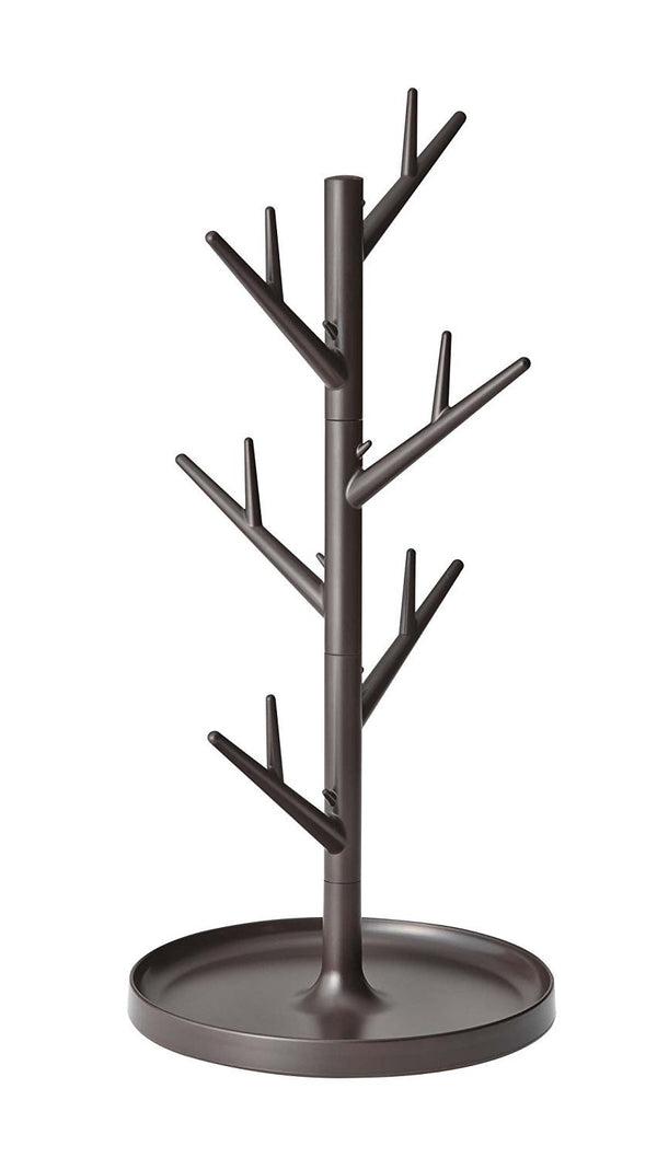 Branch Glass & Mug Tree  - Brown