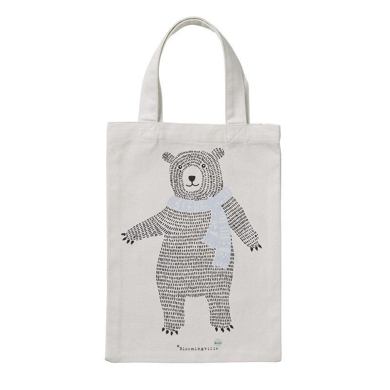 Kids Bear Tote Bag