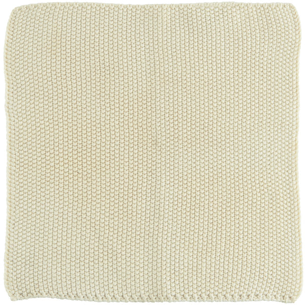 Dish cloth Mynte Latte knitted
