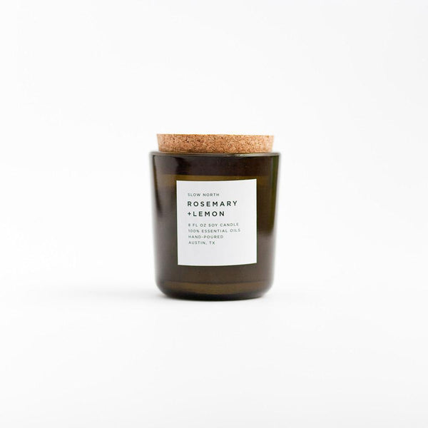 Tumbler Candles | Rosemary + Lemon (8 Oz)