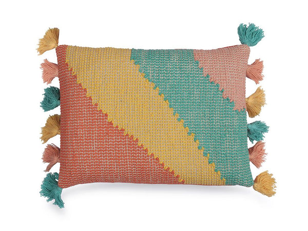 Wave Lumbar Pillow, Multi