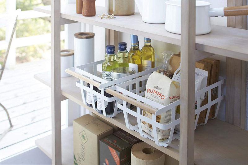 Tosca Storage Basket - White