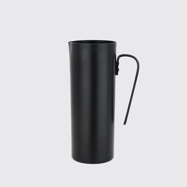 Matte Black Aluminium Pitcher