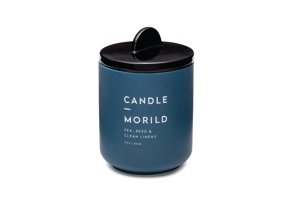 Candle in a Ceramic Vessel - Morild