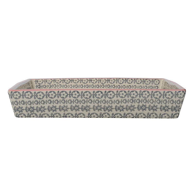 Cecile Patterned Serving Dish