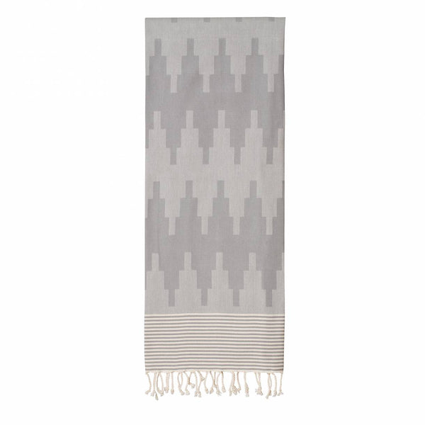 Wrapper's delight - Fouta -  Sur la montagne / Grey