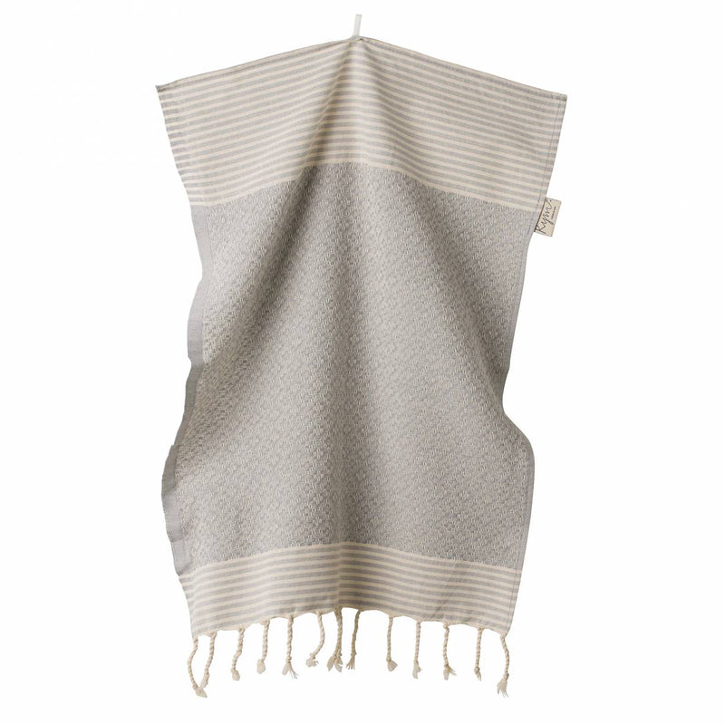 Wipe Me Off - Hand Towel,  Frizzy not fuzzy / Grey