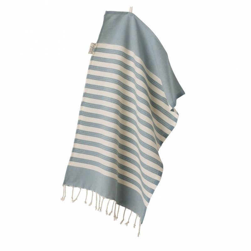 Wipe Me Off - Hand Towel,  Sur la plage / Blue