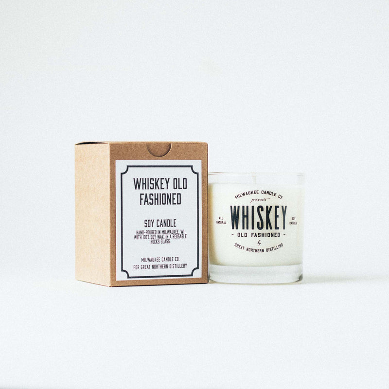 Whiskey Old Fashioned Soy Candle