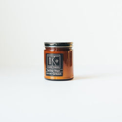 Blood Orange + Mahogany Soy Candle