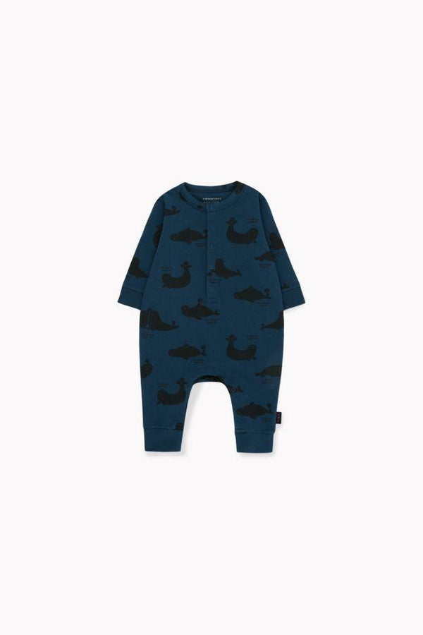 """SEALS"" ONE-PIECE TRUE NAVY/BLACK"