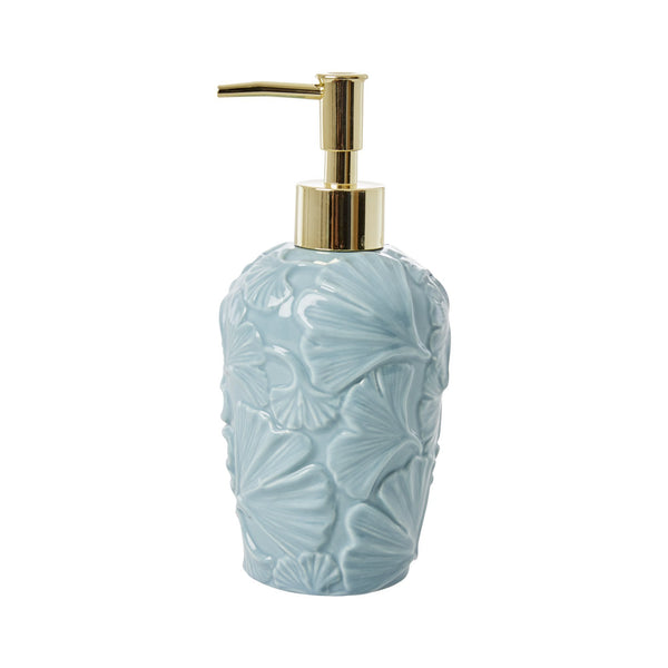 Soap Dispenser with Embossed Details -Winter Sky Blue