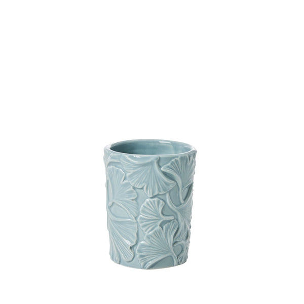 Toothbrush Holder with Embossed Details - Winter Sky Blue