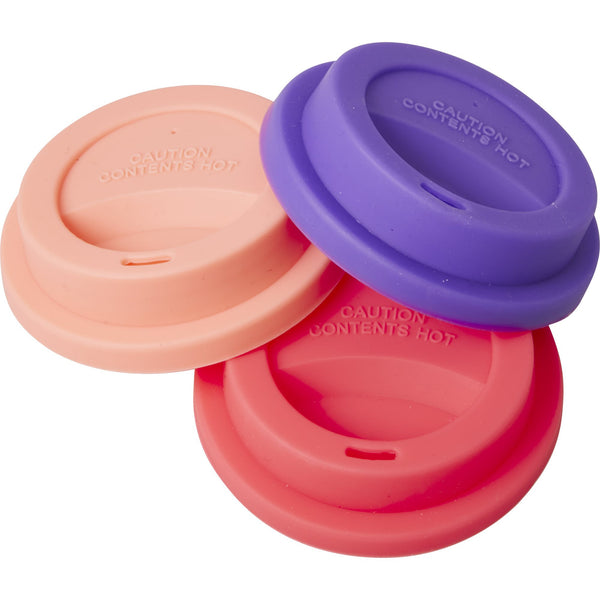 Silicone Lid for Our Melamine Tall Cups in 3 Assorted Colors